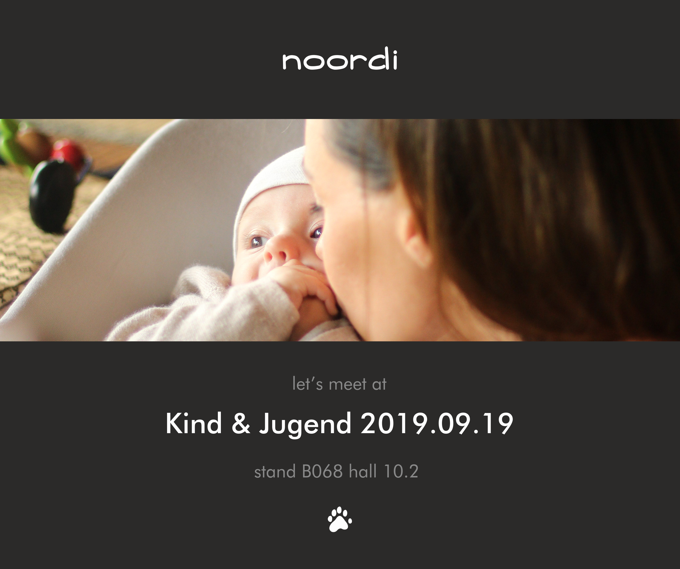 Let's meet at Kind&Jugend!